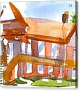 Church On Shepherd Street 4 Acrylic Print by Kip DeVore