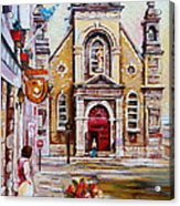Church On Sunday Acrylic Print