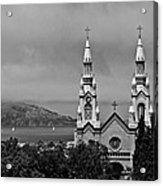 Church On The Bay Acrylic Print