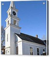 Church On The Cape Acrylic Print