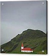 Church On The Hill Acrylic Print by Deborah Benbrook