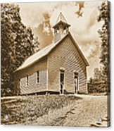 Church On The Hill Acrylic Print
