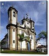 Church Ouro Preto Brazil 5 Acrylic Print