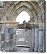 Church Portal Acrylic Print
