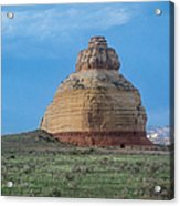 Church Rock On The Road To Moab Acrylic Print