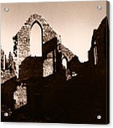 Church Ruins Acrylic Print
