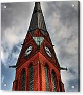 Church Spire Hdr Acrylic Print