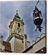 Church Steeple - Bratislava Slovakia Acrylic Print