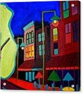 Church Street Cafe Burlington VT Acrylic Print