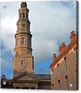 Church Street In Charleston Sc Acrylic Print