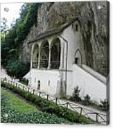 Church Under Cliff Acrylic Print