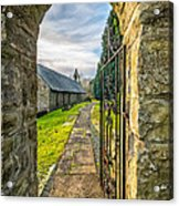 Church Way Acrylic Print