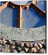 Church Window Detail Acrylic Print