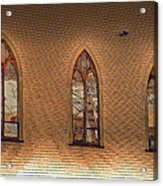 Church Windows Acrylic Print