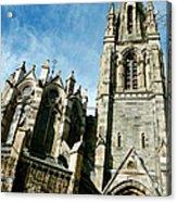 Church With An Eerie Feel Acrylic Print