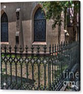 Church Yard Acrylic Print
