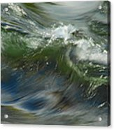 Churning Waters Acrylic Print