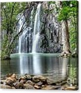 Cider Creek Falls Acrylic Print by Shannon Rogers