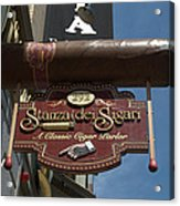 Cigar Parlor Boston Acrylic Print