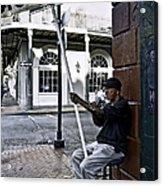 Cigar Shop On Bourbon Street New Orleans Acrylic Print