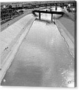 Cigarette Venders Rio Grande River Separating El Paso And Juarez 1977 Acrylic Print