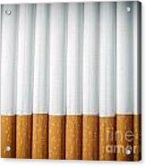 Cigarettes Acrylic Print