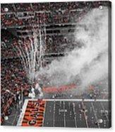 Cincinnati Bengals Playoff Bound Acrylic Print