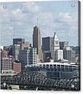 Cincinnati Cityscape Acrylic Print