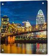 Cincinnati Downtown Acrylic Print