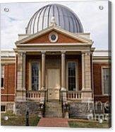 Cincinnati Observatory In Cincinnati Ohio Acrylic Print