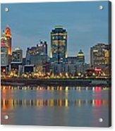 Cincinnati On The Riverfront Acrylic Print