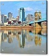 Cincinnati Reflects Acrylic Print