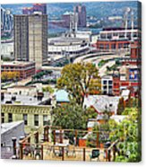 Cincinnati Rooftop 9965 Acrylic Print