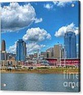 Cincinnati Skyline Acrylic Print