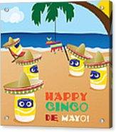 Cinco De Mayo Acrylic Print