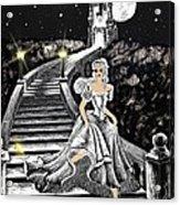 Cinderella Acrylic Print