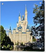 Cinderella's Castle II Acrylic Print