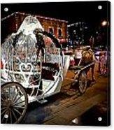 Cinderella's Ride Acrylic Print