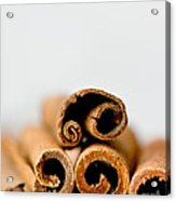 Cinnamons And Clove Acrylic Print
