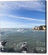 Cinque Terre And The Sea Acrylic Print