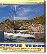 Cinque Terre II Acrylic Print
