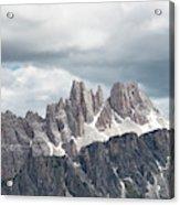 Cinque Torri Area In The Dolomites Acrylic Print