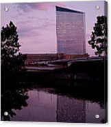 Cira Centre Acrylic Print by Rona Black