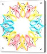 Circle Art Acrylic Print