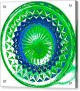 Circle Green Acrylic Print