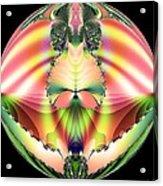 Circle Of Rainbows Acrylic Print