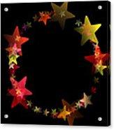 Circle Of Stars Acrylic Print