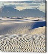 Circles In The Sand Acrylic Print