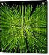 Circuit Zoom Acrylic Print