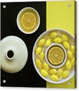 Circular Arrangement Acrylic Print